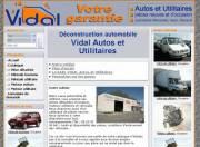 creation site web Vidal Autos & Utilitaires